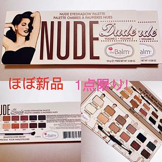 BOBBI BROWN - 【即購入可】the blam nude dudeパレット