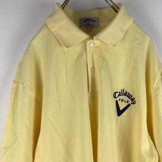 キャロウェイゴルフ(Callaway Golf)のキャロウェイゴルフ ポロシャツ 90s ビッグサイズ(ポロシャツ)
