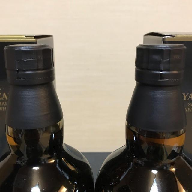 サントリー(サントリー)の桔梗様優先‼️  山崎18年 2本セット 食品/飲料/酒の酒(ウイスキー)の商品写真