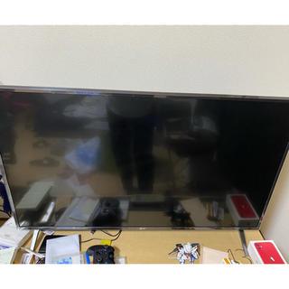 エルジーエレクトロニクス(LG Electronics)のLG 43型テレビ4K 対応2019年製(テレビ)