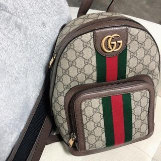 Gucci - GUCCI GGスモール バックパック リュック