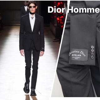 ディオールオム(DIOR HOMME)のDior  Homme 2018秋冬アトリエ atelierテーラードジャケット(テーラードジャケット)