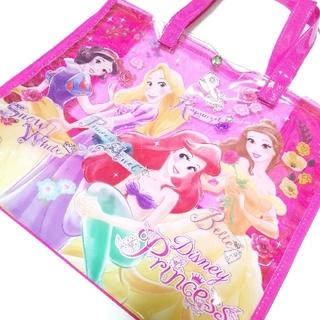 ディズニー(Disney)の新品♡ディズニープリンセス プールバック♡マチ付 大きめサイズ プール 水遊び(その他)