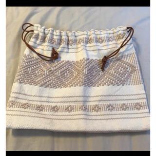 ビューティアンドユースユナイテッドアローズ(BEAUTY&YOUTH UNITED ARROWS)のcharrita チャリータ 巾着(ハンドバッグ)
