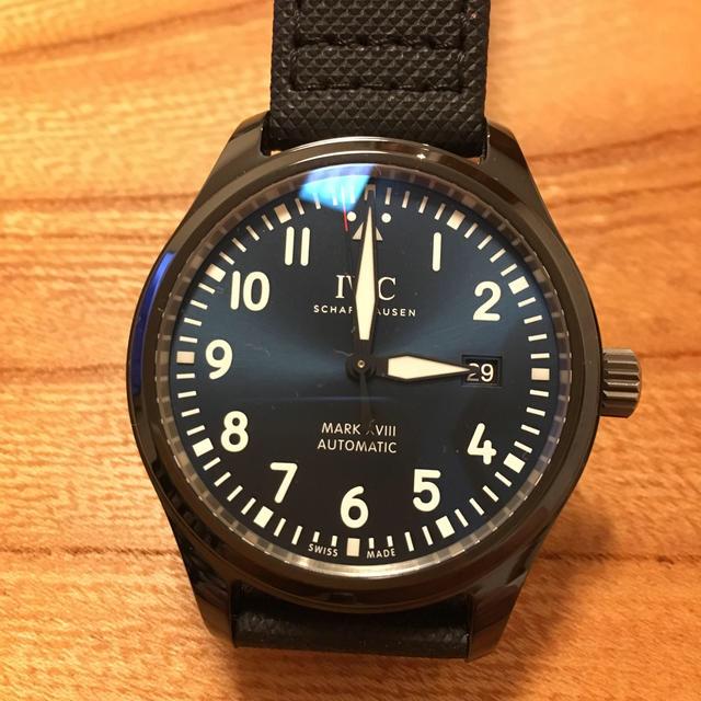 IWC(インターナショナルウォッチカンパニー)のIWC  マーク18ローレウス IW324703 メンズの時計(腕時計(アナログ))の商品写真