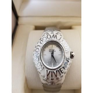 ヴィヴィアンウエストウッド(Vivienne Westwood)のVivienneWestwood 希少!ホワイトカレッジリング腕時計(腕時計)