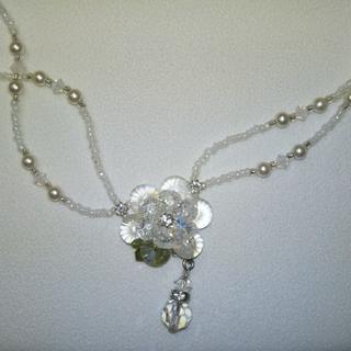スワロフスキー(SWAROVSKI)のスワロフスキーネックレス(ネックレス)
