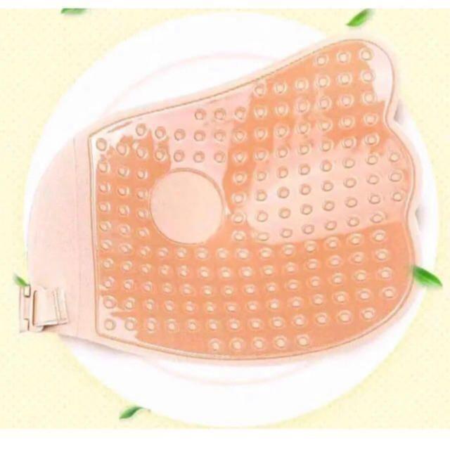 ヌーブラ シリコンブラシームレス ヌーブラ激盛り Ccup ベージュ美盛 レディースの下着/アンダーウェア(ヌーブラ)の商品写真
