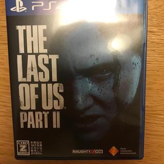 ソニー(SONY)の「The Last of Us Part II(ラスト・オブ・アス パートII)(家庭用ゲームソフト)
