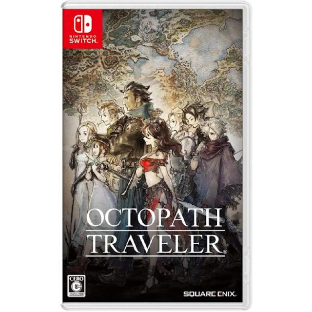 SQUARE ENIX(スクウェアエニックス)の OCTOPATH TRAVELER オクトパストラベラー Switch  エンタメ/ホビーのゲームソフト/ゲーム機本体(家庭用ゲームソフト)の商品写真