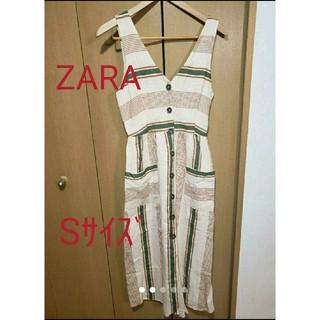 ザラ(ZARA)のZARA  サマーワンピース Sサイズ(ロングワンピース/マキシワンピース)