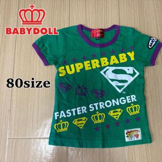 BABYDOLL - BABYDOLL/半袖Tシャツ グリーン 80cm