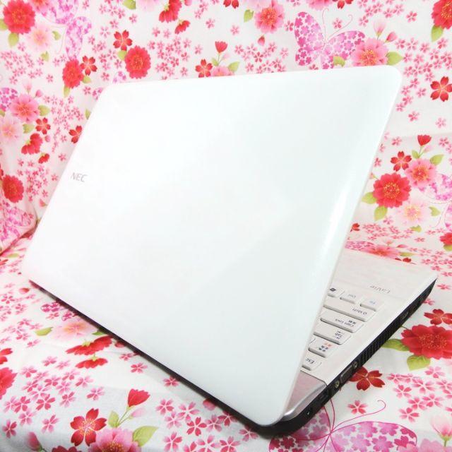 NEC(エヌイーシー)の【ハイスペック】SSD搭載♪爆速Core i5♪初心者も安心♪Windows10 スマホ/家電/カメラのPC/タブレット(ノートPC)の商品写真