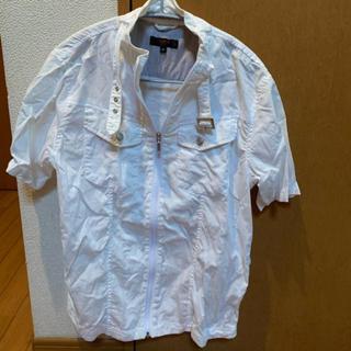 アベイル(Avail)のアベイル白ジャケット(シャツ)