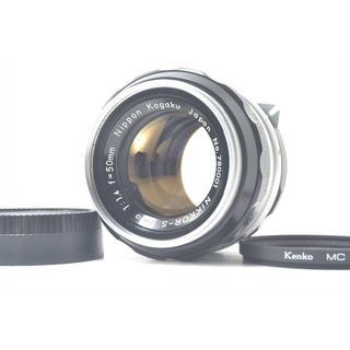 ニコン(Nikon)のNIKON Nikkor-S Auto 50mm f/1.4 分解清掃済(レンズ(単焦点))