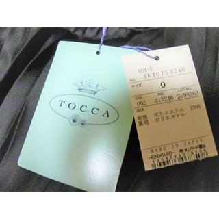 TOCCA - 新品未使用タグ付きTOCCAトッカ プリーツスカート/ワンピース