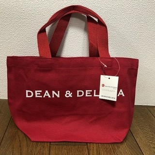 DEAN & DELUCA - 【DEAN&DELUCA】トートバック★ディーン&デルーカ★レッドS