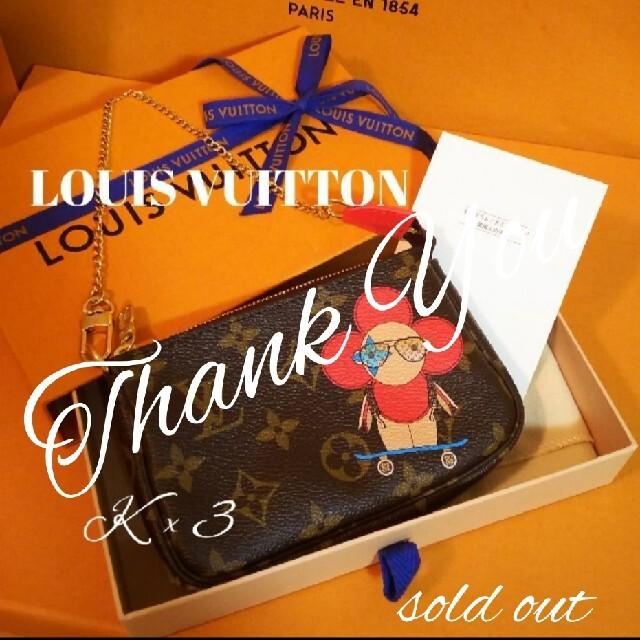 LOUIS VUITTON(ルイヴィトン)のLOUIS VUITTON ミニポシェット/アクセソワール レディースのファッション小物(ポーチ)の商品写真