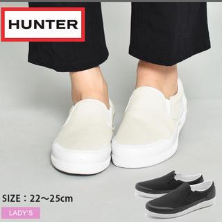 ハンター(HUNTER)のハンター レインスニーカー  スリッポン(スリッポン/モカシン)