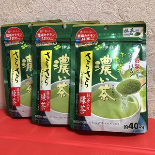 イトウエン(伊藤園)の伊藤園 さらさらパウダー茶  抹茶入り緑茶 濃い茶(茶)