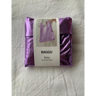 BEAMS - BAGGU バグー メタリックパープル ライラック Baby