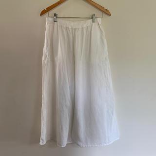 ムジルシリョウヒン(MUJI (無印良品))の無印良品 リネンスカート(ロングスカート)