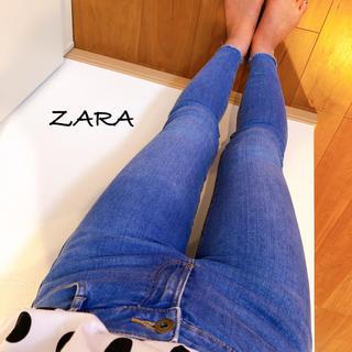 ZARA - ZARA TRAFALUC カットオフスキニーデニム2