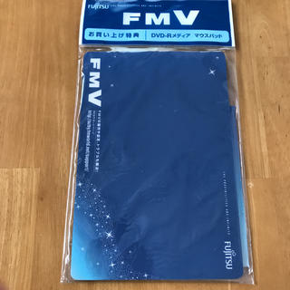 フジツウ(富士通)の富士通マウスパッドとFMV-BIBLO専用DVD-Rメディア(PC周辺機器)