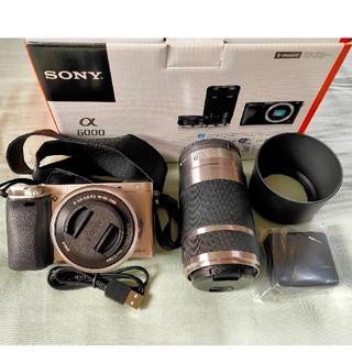 SONY -  SONY ミラーレス一眼カメラ α6000 ILCE-6000Y ダブルズーム