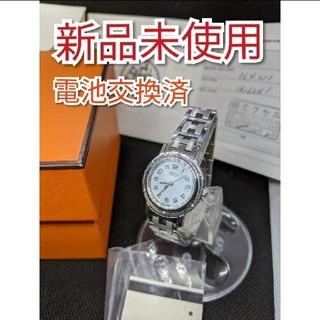 Hermes - 新品 未使用 HERMES エルメス 腕時計 CL4.210 時計 レディース