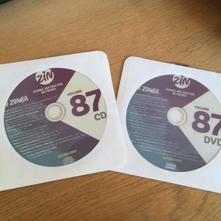 Zumba - ZIN87 CD&DVDセット