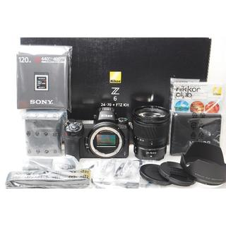 ニコン(Nikon)のショット数17回 XQD120GB付 Nikon Z6 24-70mm(ミラーレス一眼)
