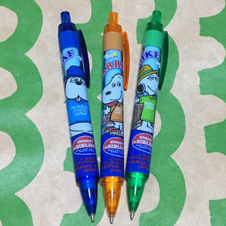 SNOOPY - 【USJ】スヌーピーシャープペン 3本セット