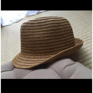 ミキハウス(mikihouse)のMIKIHOUSE PiCNiC 麦わら帽子 ハット キッズ 52cm(帽子)