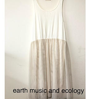 earth music & ecology - レディース チュールワンピース フリーsize