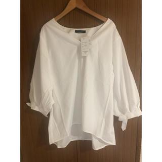 レディースシャツ白LL
