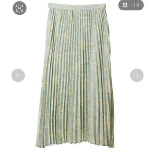 31 Sons de mode - トランテアンソンドゥモード グリーン 小花柄 スカート