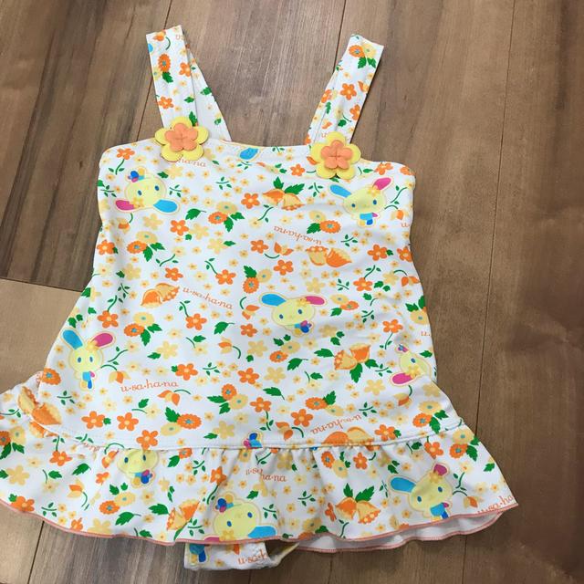 サンリオ(サンリオ)の水着 子供 110 サンリオ ウサハナ キッズ/ベビー/マタニティのキッズ服女の子用(90cm~)(水着)の商品写真