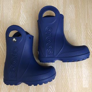 crocs - クロックス キッズ こども 長靴 レインブーツ
