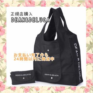ディーンアンドデルーカ(DEAN & DELUCA)の〚正規品〛DEAN&DELUCAエコバッグ 黒 ショッピングバッグトートバッグ(エコバッグ)
