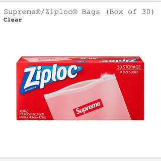 シュプリーム(Supreme)の新品 Supreme Ziploc 1箱(収納/キッチン雑貨)