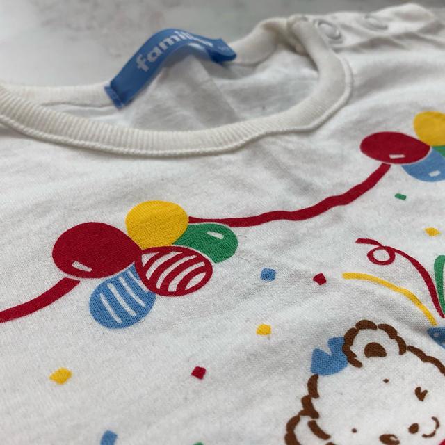 familiar(ファミリア)の子供服 サイズ90 シャツ キッズ/ベビー/マタニティのキッズ服女の子用(90cm~)(Tシャツ/カットソー)の商品写真