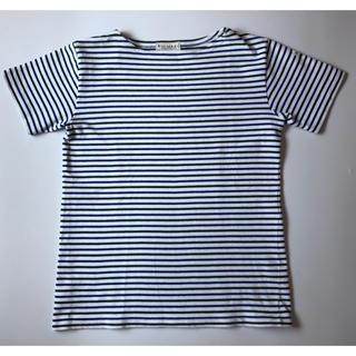 ルミノア(Le Minor)のLe minor ルミノア ボーダーカットソー(Tシャツ/カットソー(半袖/袖なし))