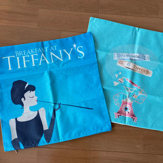 Tiffany & Co. - クッションカバー 2枚 ティファニー オードリーヘプバーン