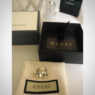 Gucci - 本日中に消去致します 新品未使用 グッチ シルバー リング 指輪