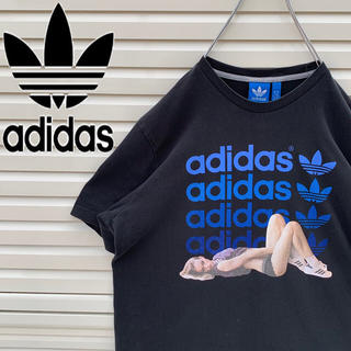 アディダス(adidas)のアディダス Tシャツ 90s レアデザイン ゆるダボ かわいい 希少‼︎ 人気(Tシャツ/カットソー(半袖/袖なし))