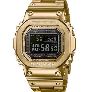 ジーショック(G-SHOCK)の新品未使用 国内正規 G-shock GMW-B5000GD-9JF ゴールド(腕時計(デジタル))