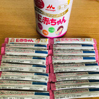 森永乳業 - E赤ちゃん大缶 +スティック16本