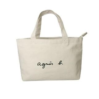 agnes b. - アニエスベー トートバッグS アイボリー