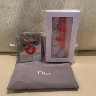 Christian Dior - クリスチャンディオール キーチャームとピンブローチ